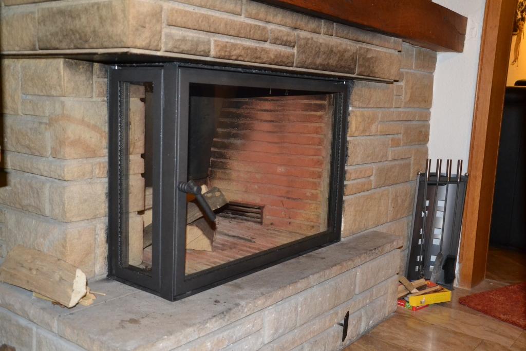 Gut bekannt Kamintüren und Verglasungen maßgefertigt ab Werk PG46